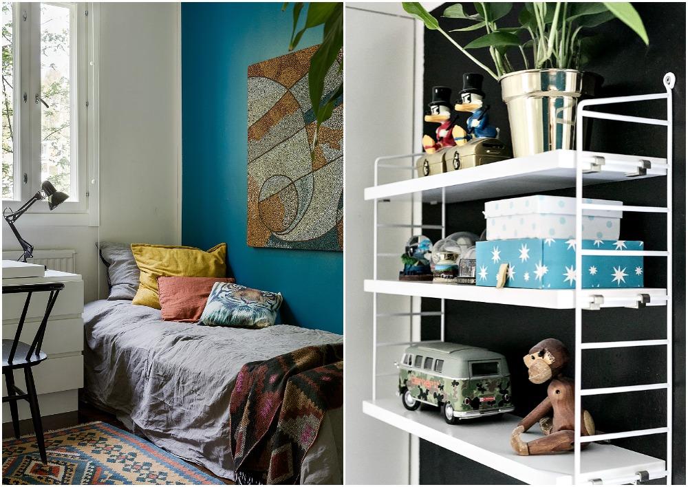 sisustus, sisustaminen, koti, home, decoration, inredning, interior, Visualaddict, valokuvaaja, Frida Steiner, Avotakka, sisustuslehti, string, lastenhuone