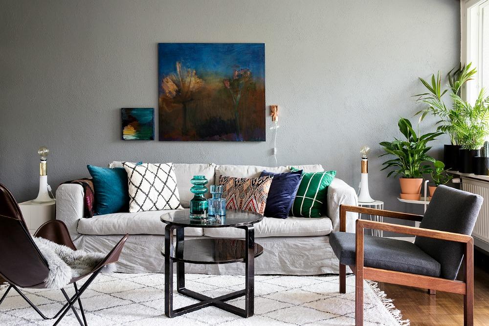 sisustus, sisustaminen, koti, home, decoration, inredning, interior, Visualaddict, valokuvaaja, Frida Steiner, Avotakka, sisustuslehti, olohuone